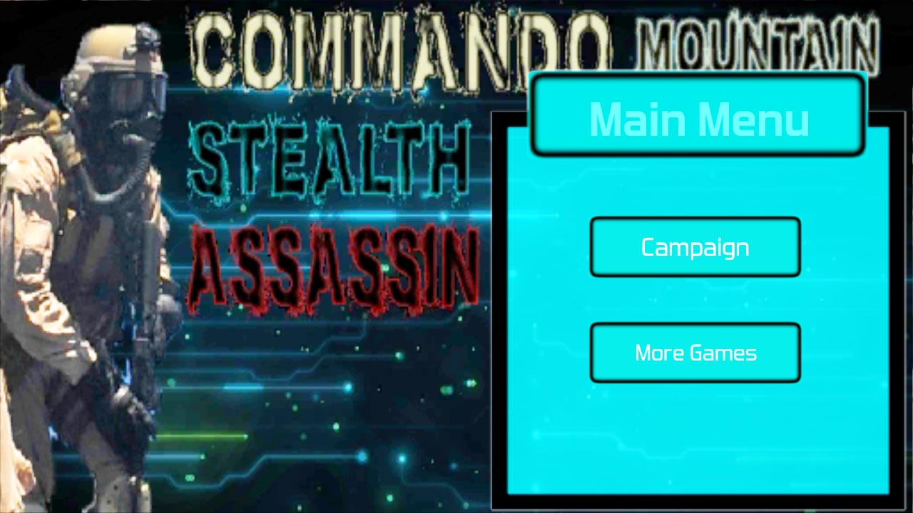 Commando Mountain Spy Assassin