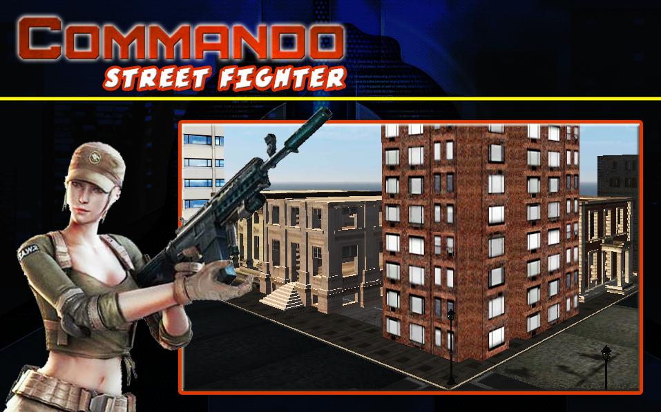 Commando Street Fighter