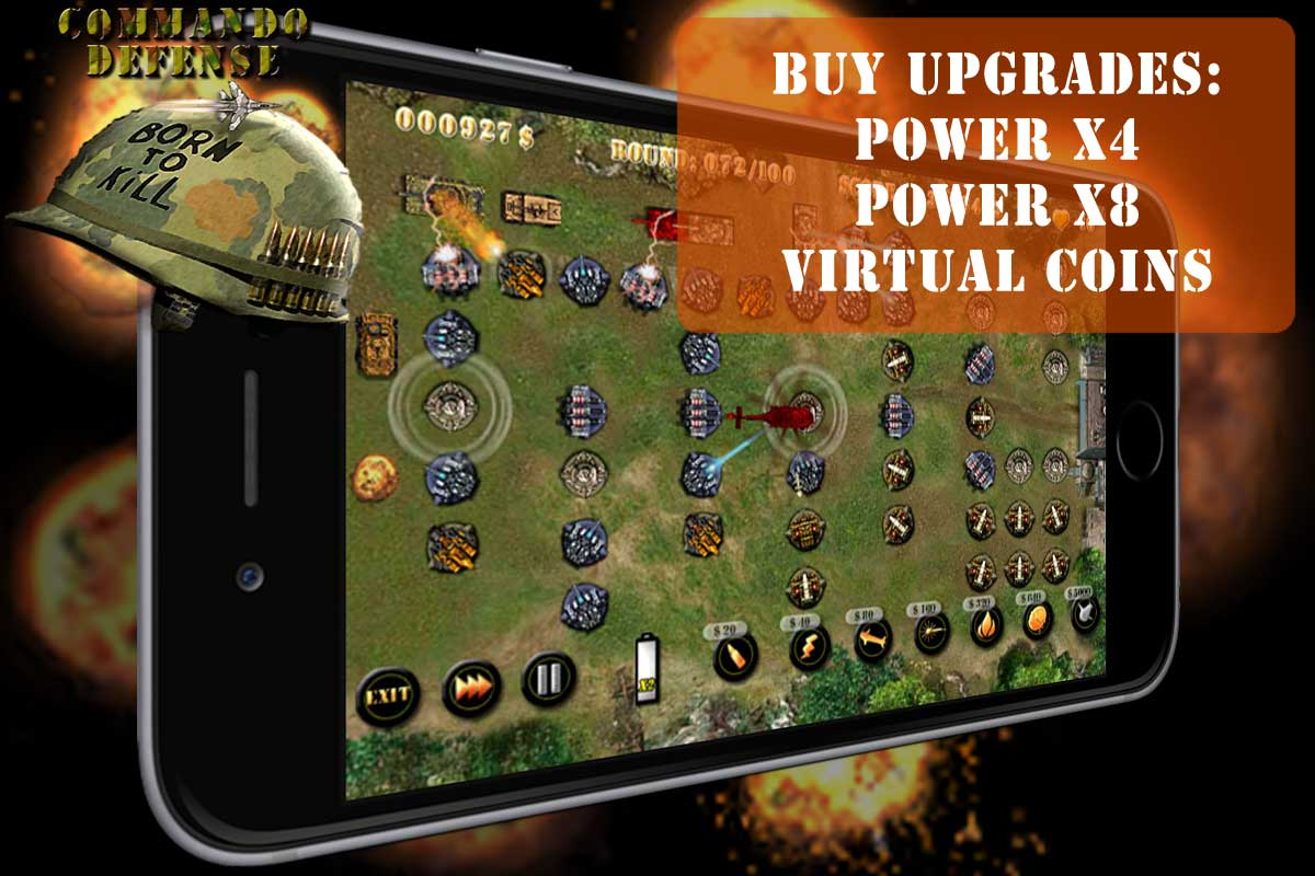 Commando Tower Defense HD
