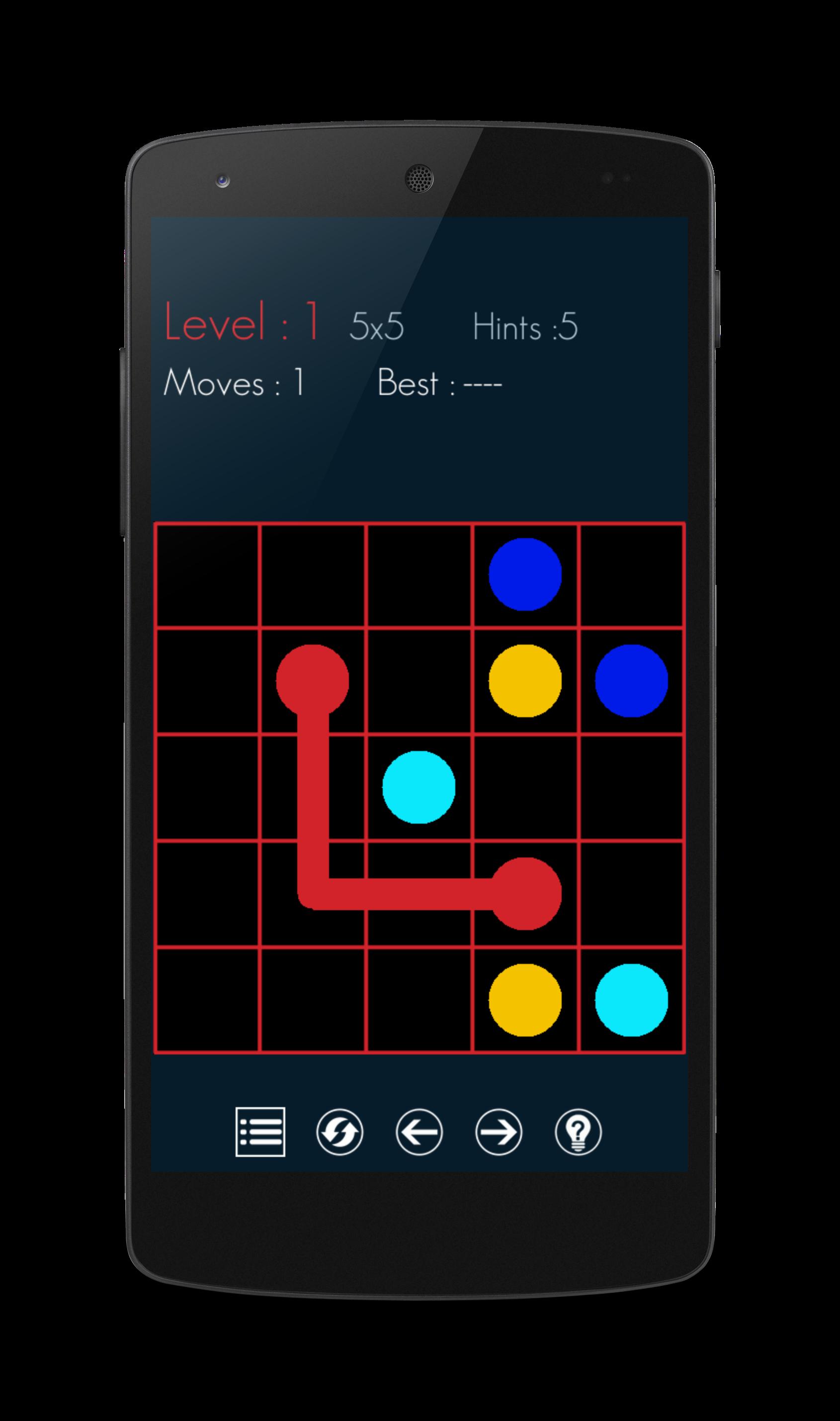 Connect Colour  Dots