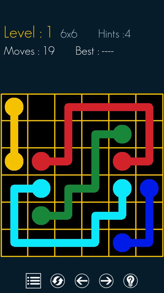 Connect Flow Dots