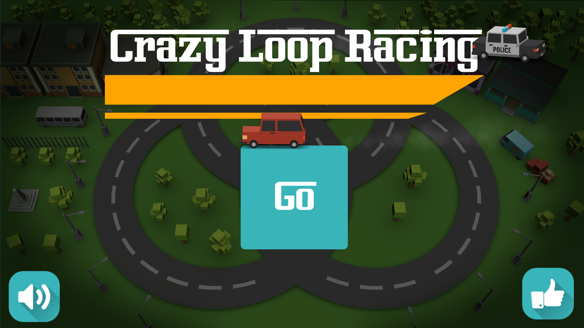Crazy Loop Raing