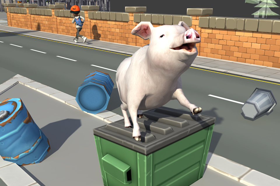 crazy piggies 3d simulator
