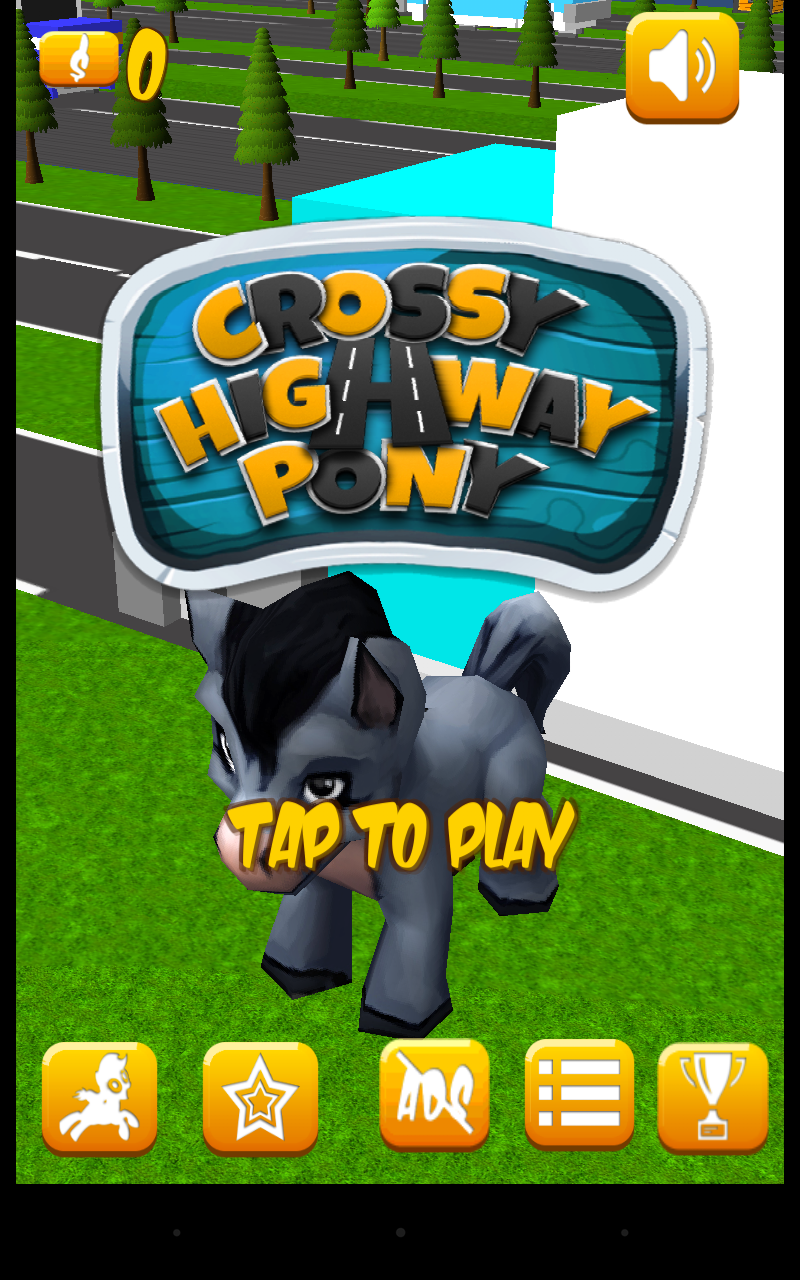 Crossy Highway Pony