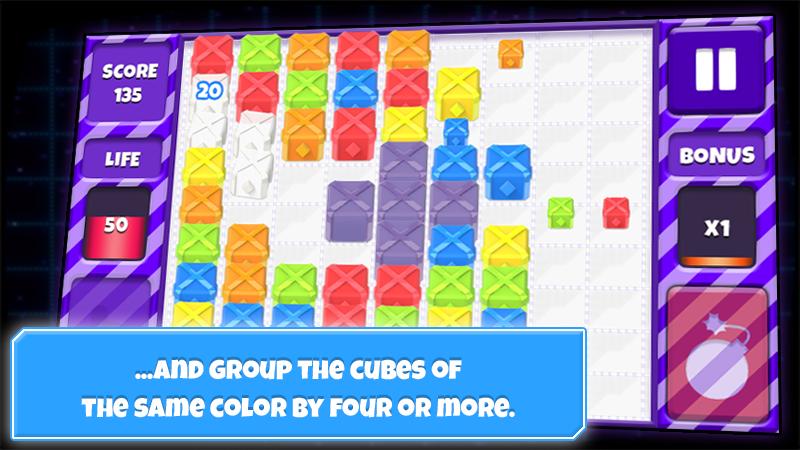 Cube Crush Mania