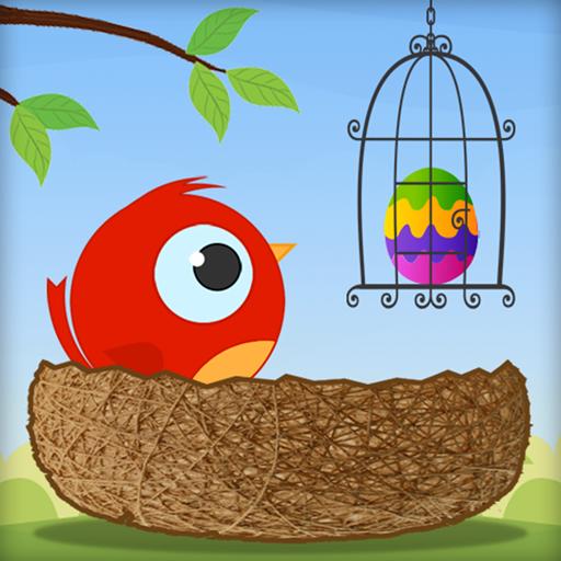 Cute Angry Bird : Eggs