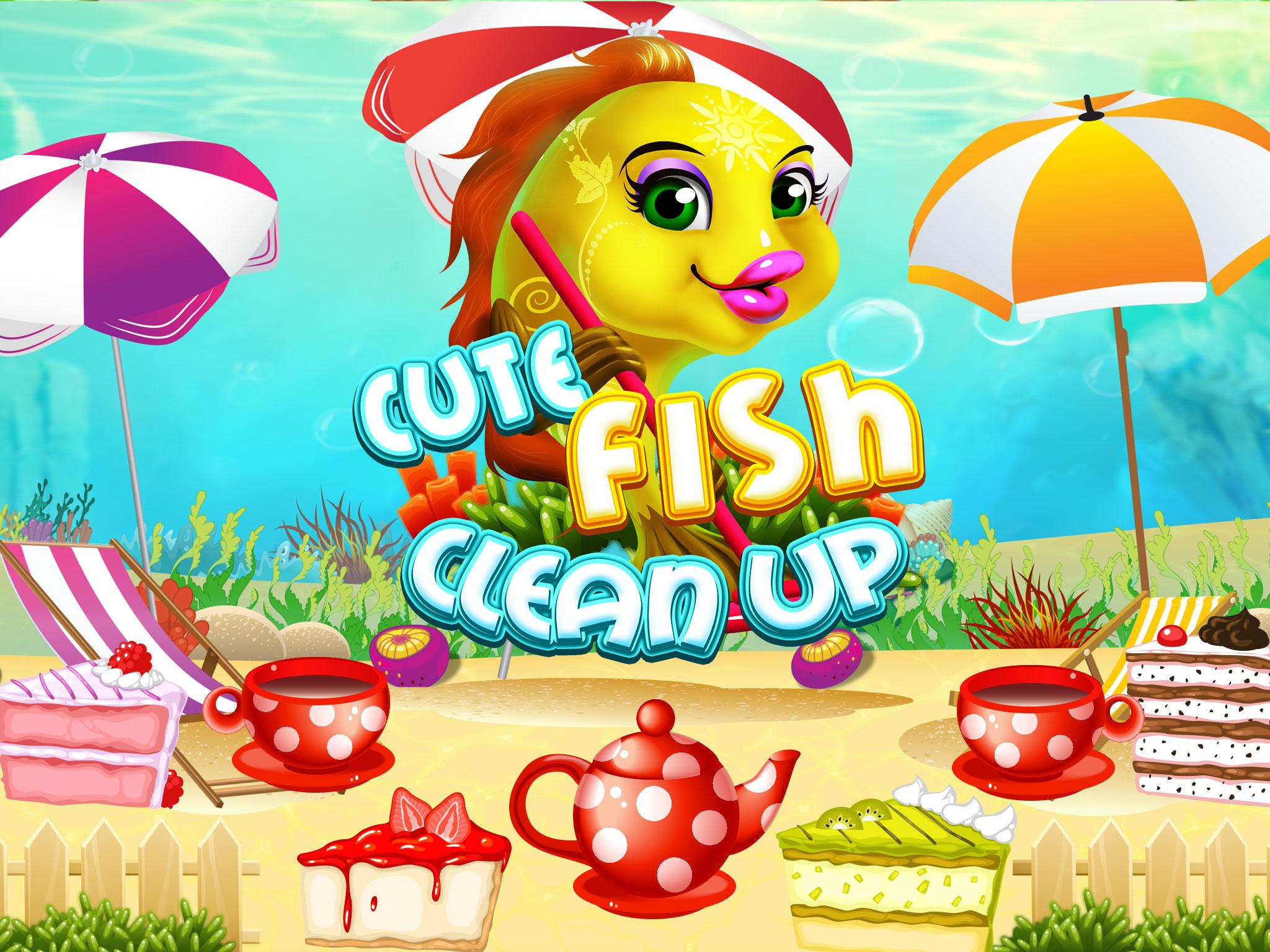 Cute Fish Clean Up