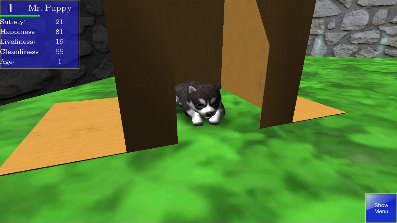 Cute Pocket Puppy 3D