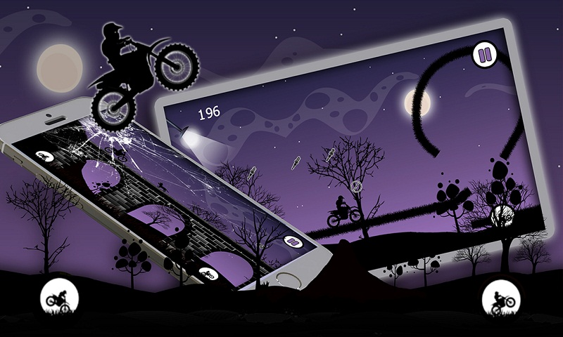 Dark Moto Race : Black Night Bike Racing Challenge
