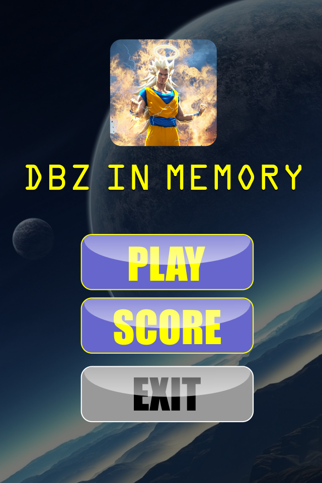 DBZ real memory game