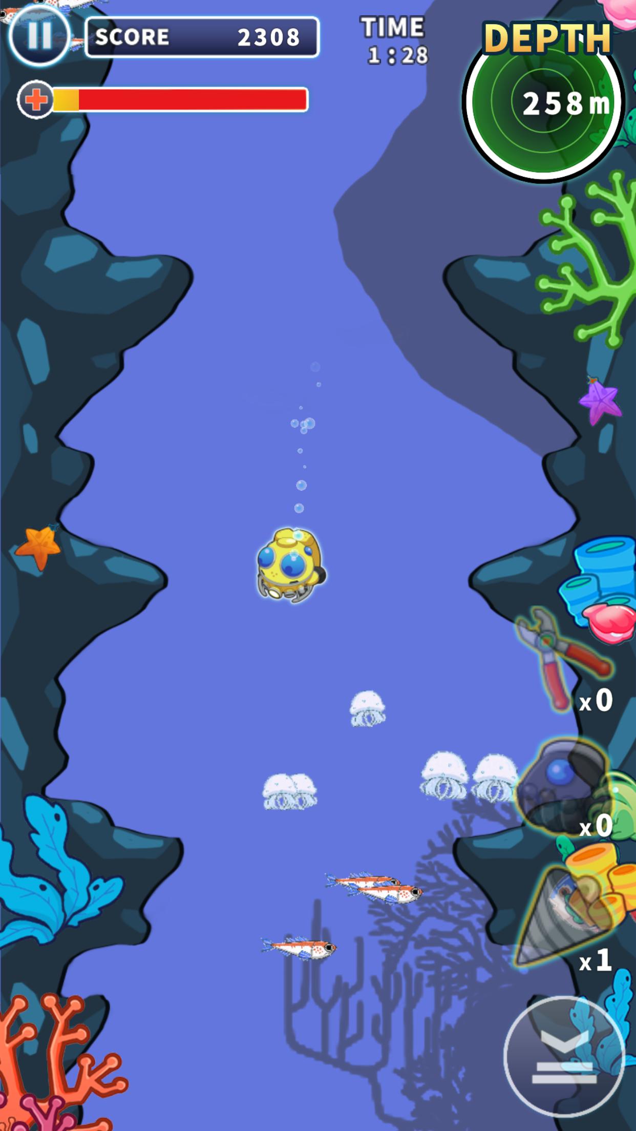 Deep Deep Diver