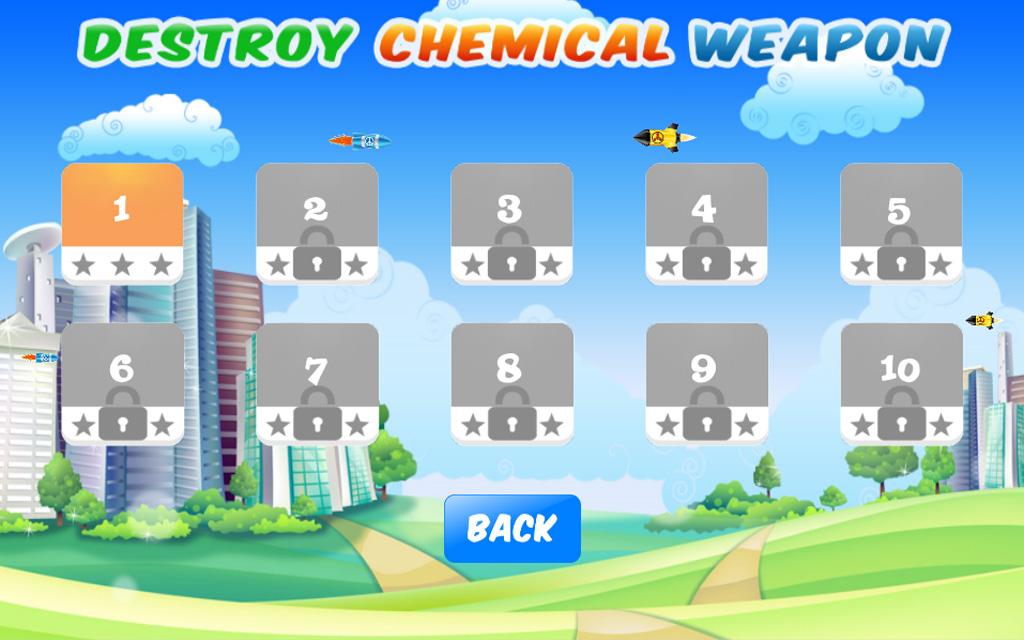 Destroy Chemical Weapon