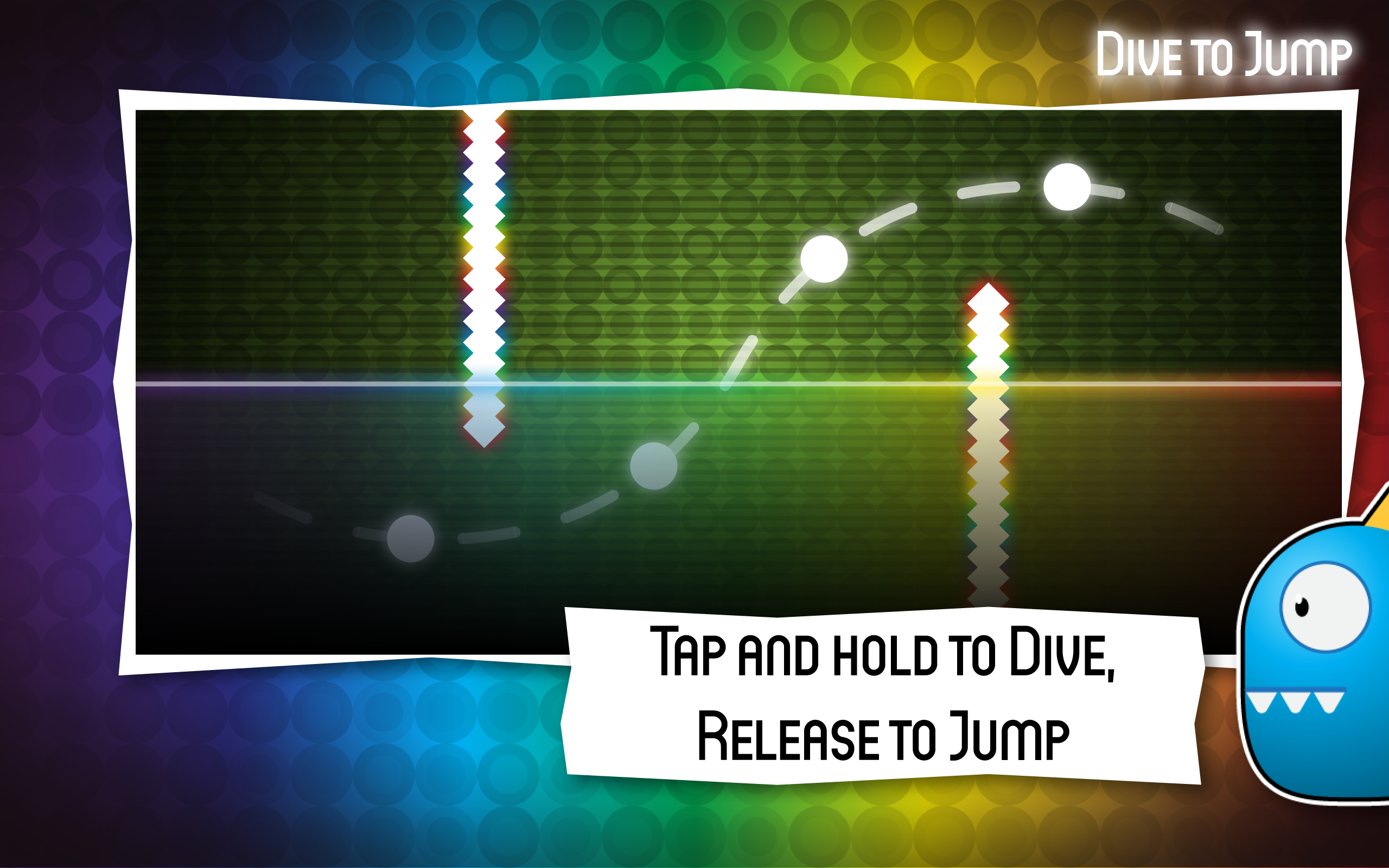 Dive To Jump : Physics Runner