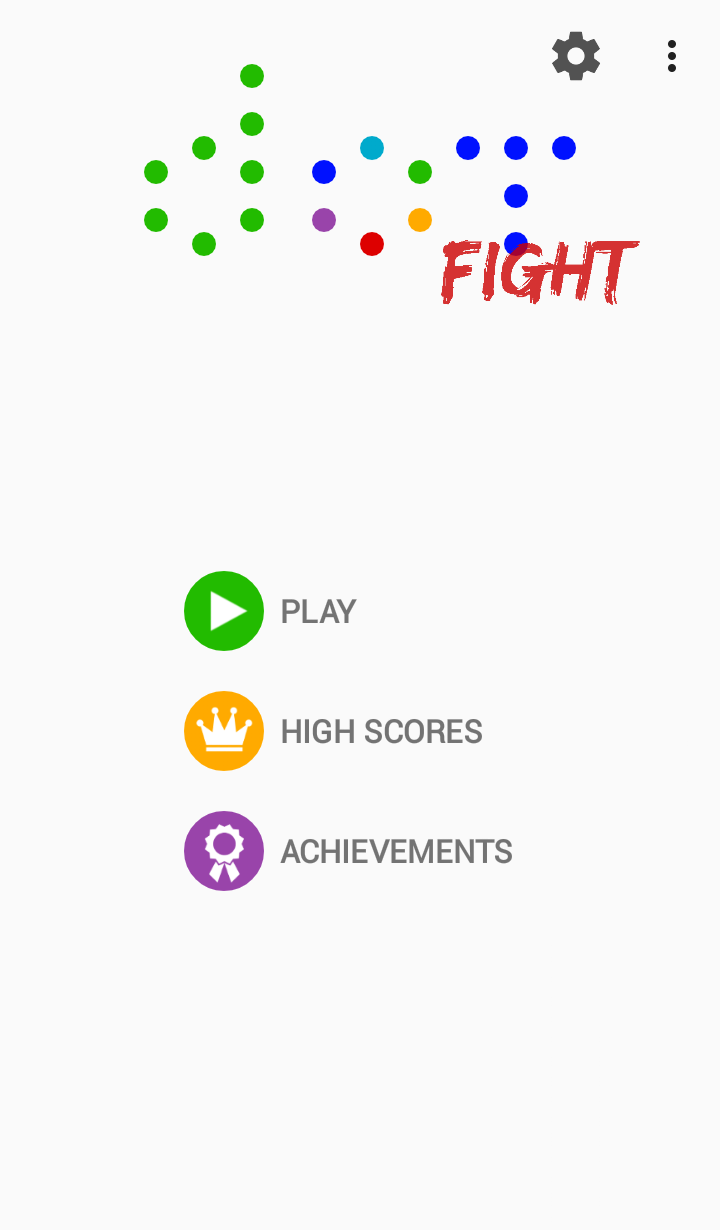 Dot Fight: color matching game