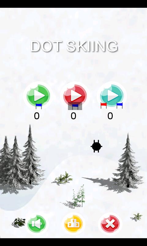 Dot Skiing