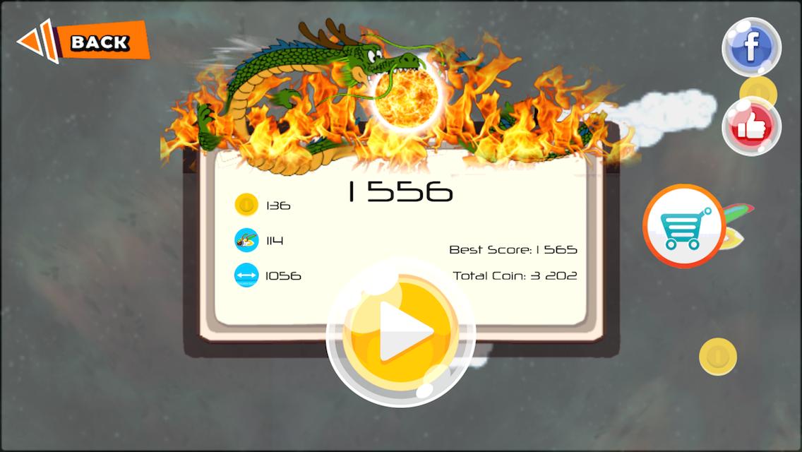Dragon Ghost Saiyan Warrior