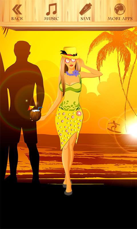 Dress Up Beach Girl