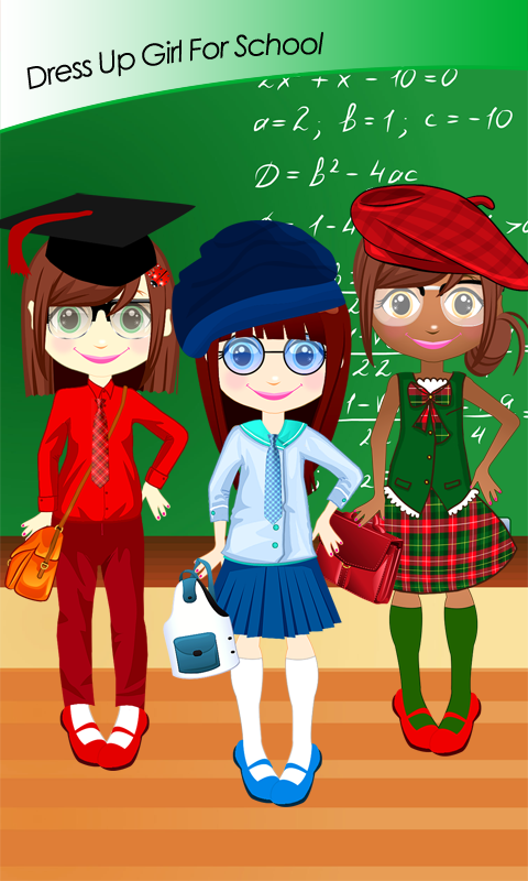 Dress Up Girl For School