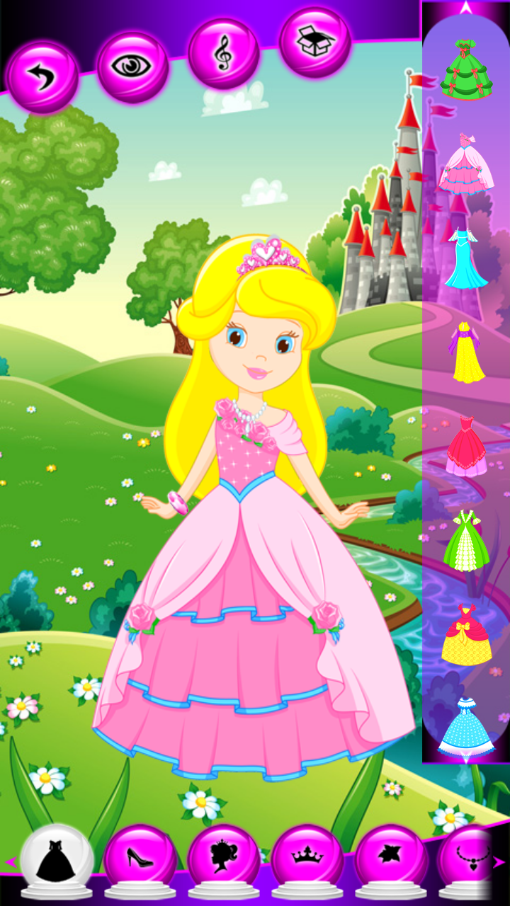 Dress Up Little Princess