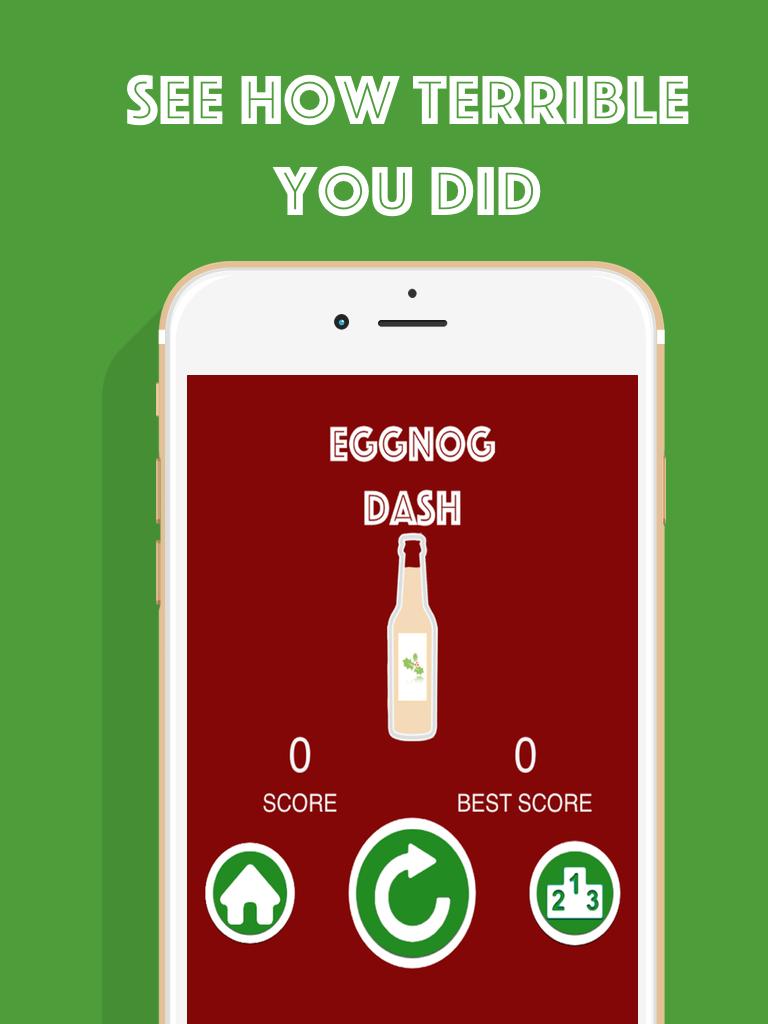 Eggnog Dash