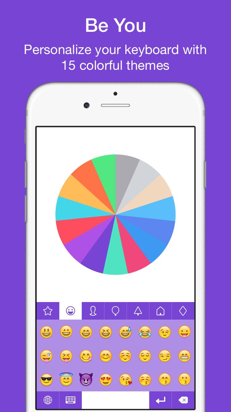 EmojiKey – Emoji Keyboard & Kaomoji Emoticons For iPhone & iOS 8