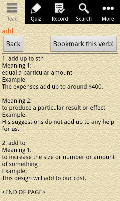 English Grammar -Phrasal Verb