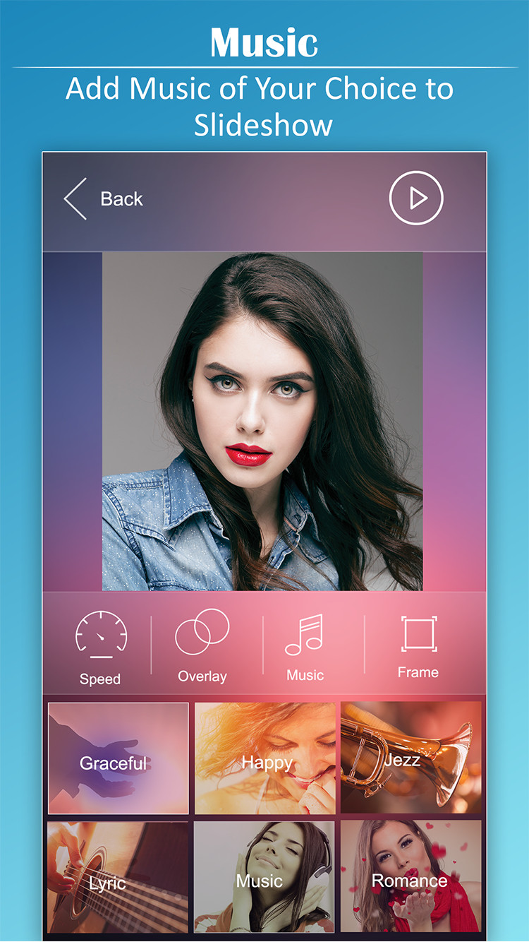 Photo Slideshow with Music – Amazing Pictures Slideshow Maker with Music
