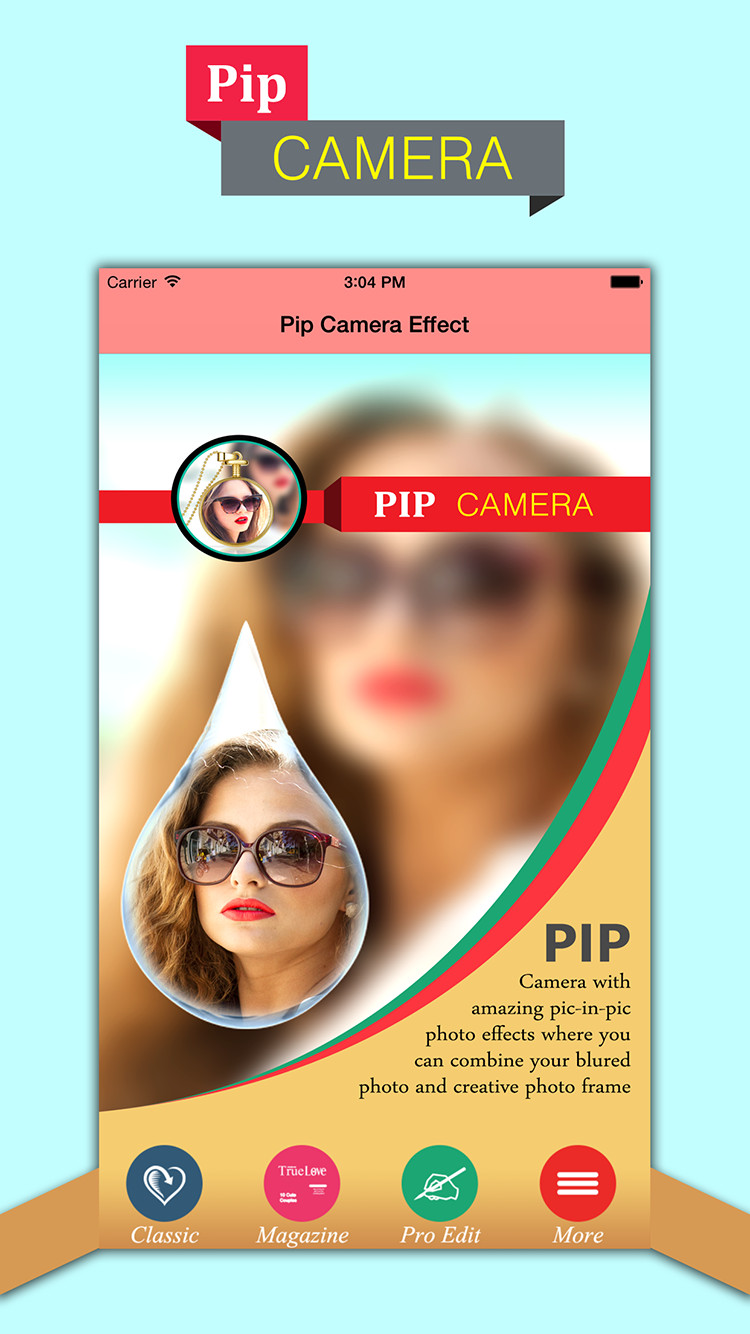 PIP Camera-Photo In Photo Effect