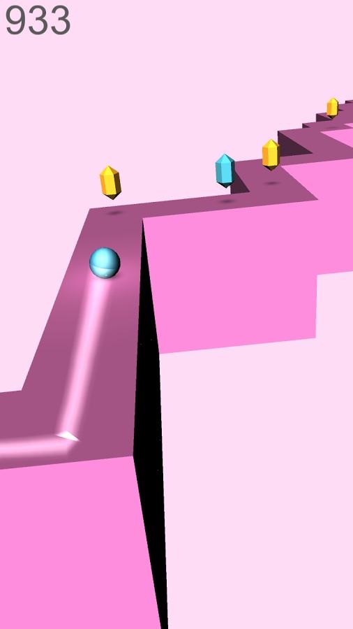 ZiBo – 3D ZigZag Ball Game