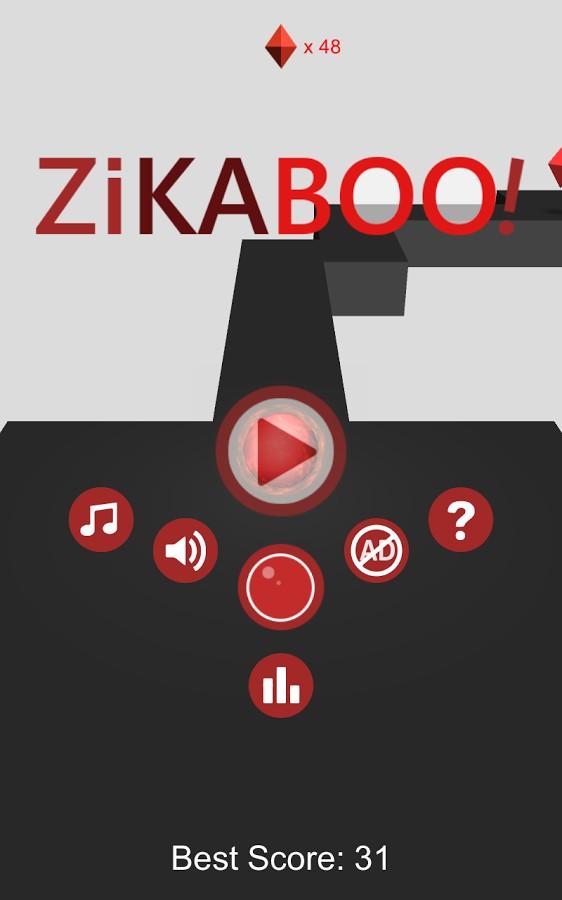 ZiKaBoo! – ZigZag 3D Runner