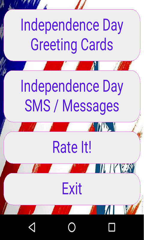 4th July, America Independence Day Greeting Cards