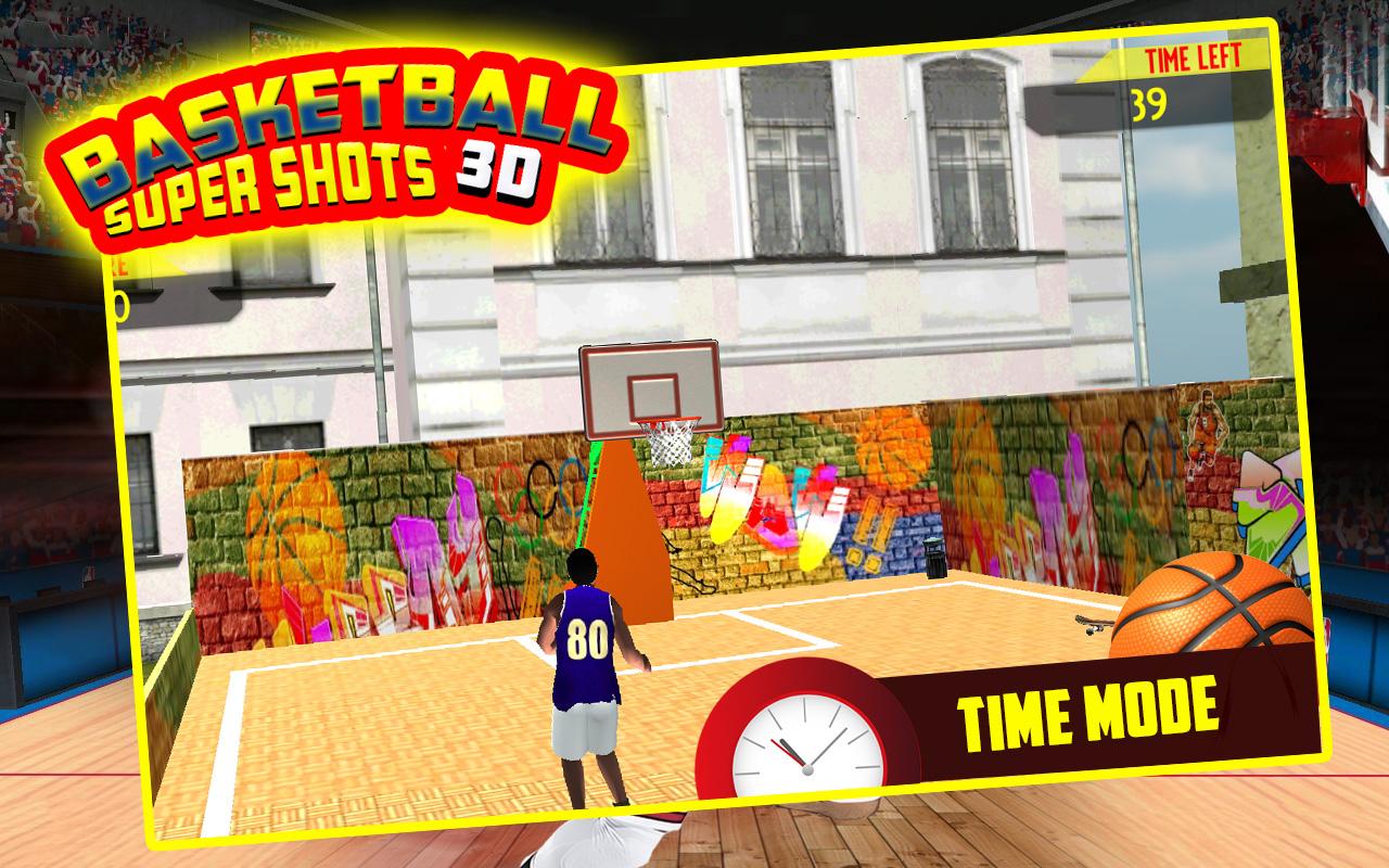Basketball Super Shots 3D