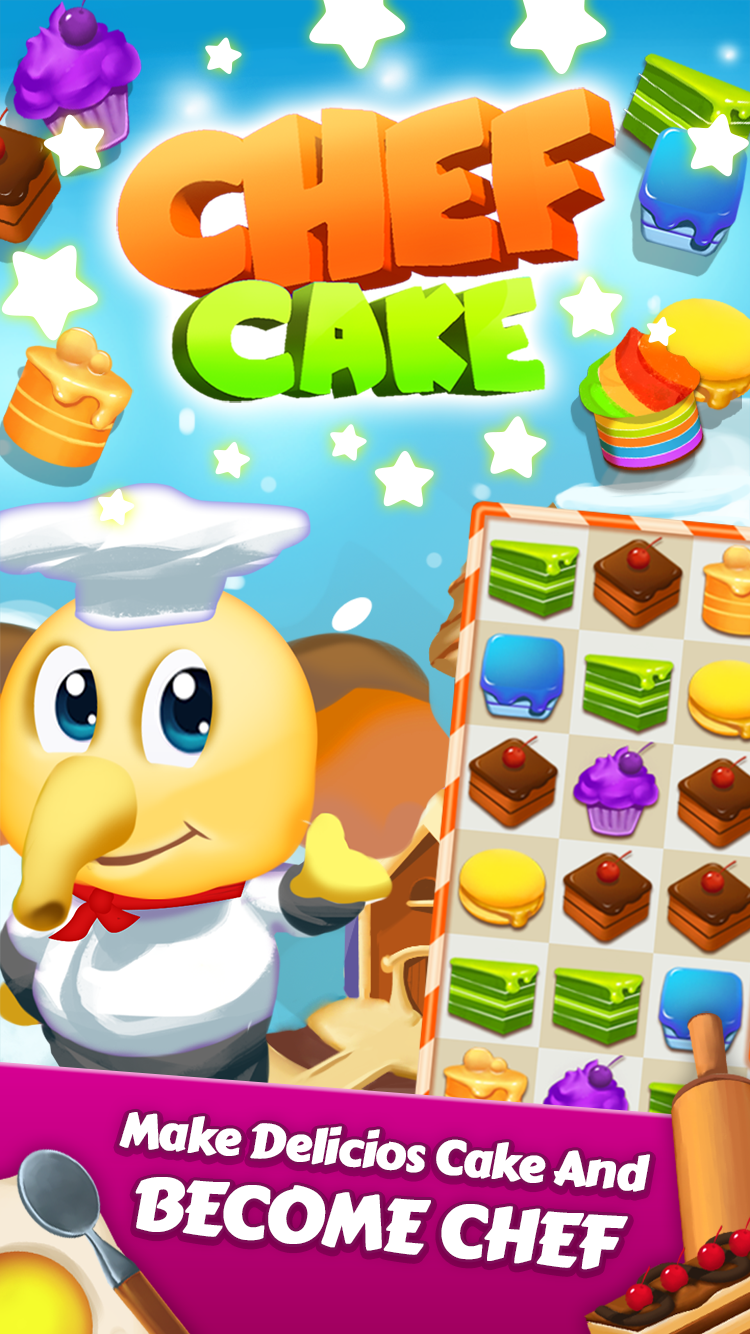 Chef Cake - Cooke Crush