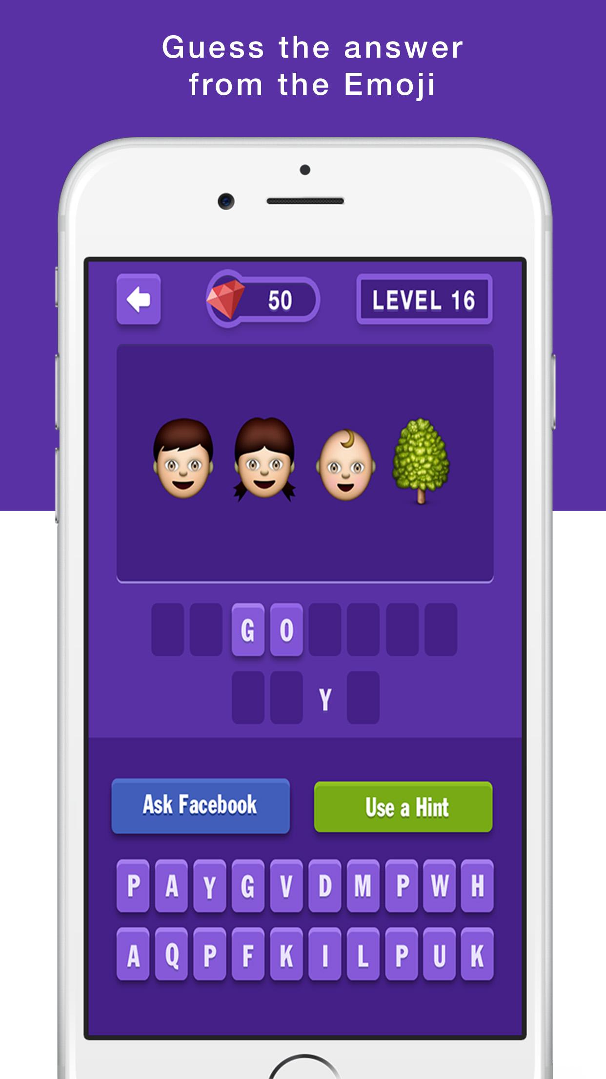 Emoji Quiz - Guess the emoji emoticons free