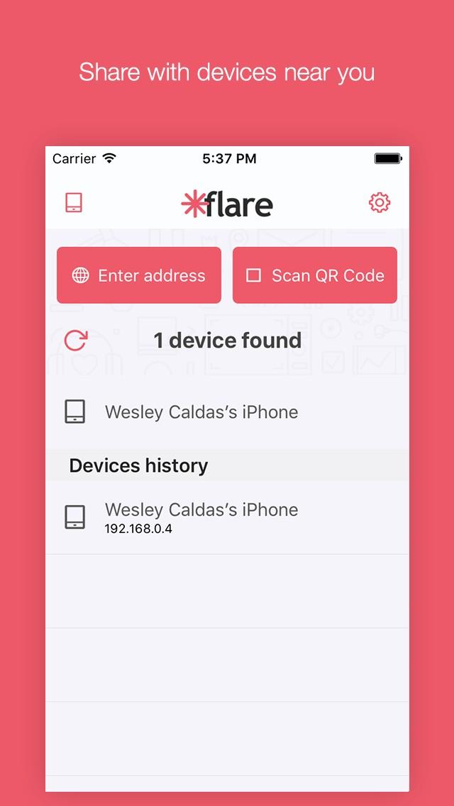 Flare - file share