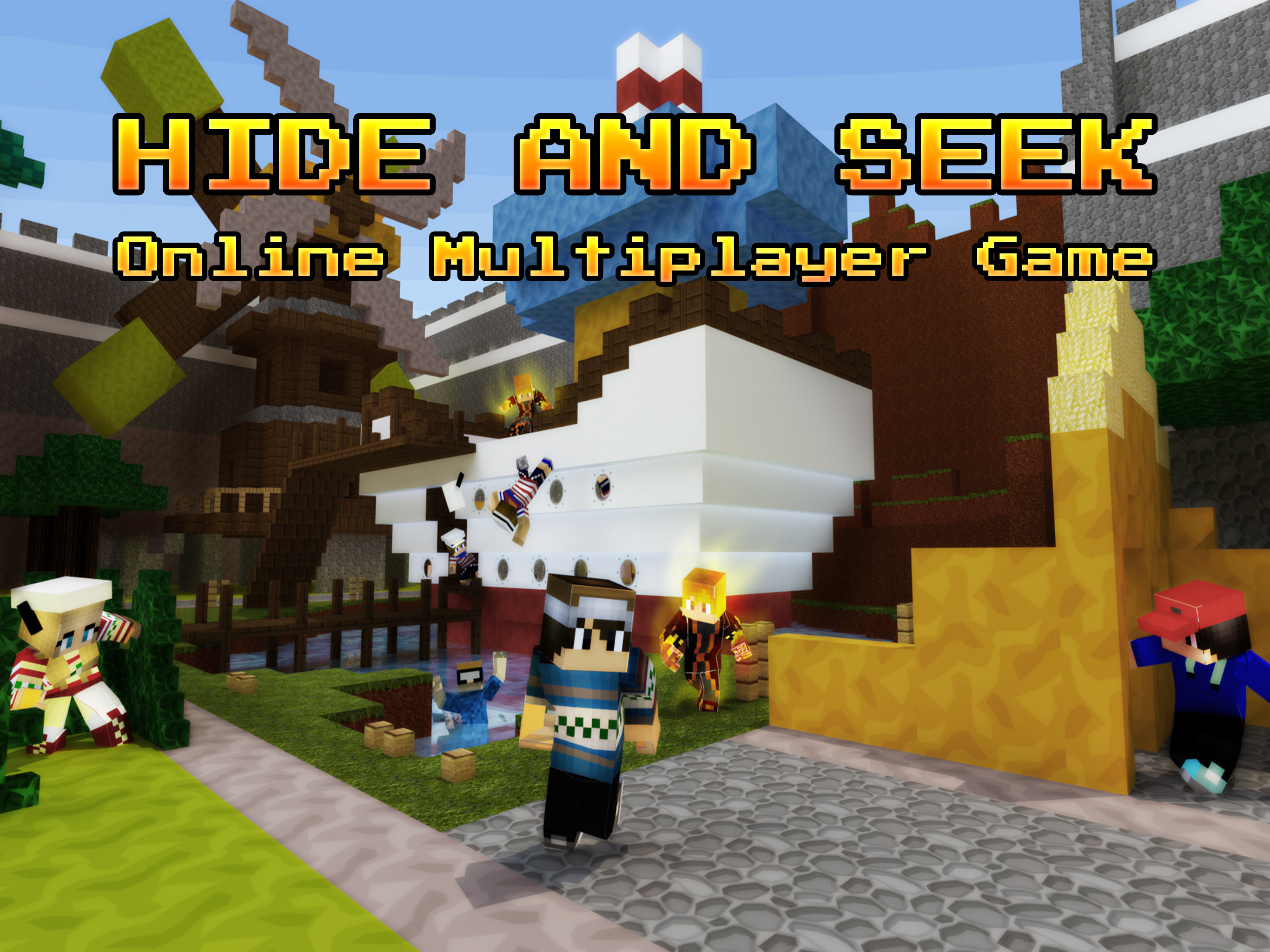 Hide and Seek – Online Peekaboo 3D Party Mini Game