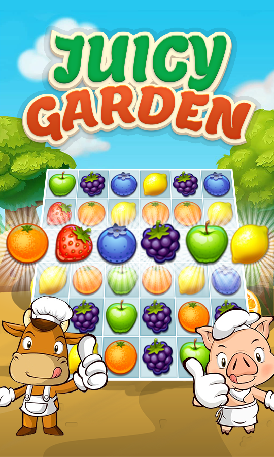 Juice Garden - Fruit Match 3
