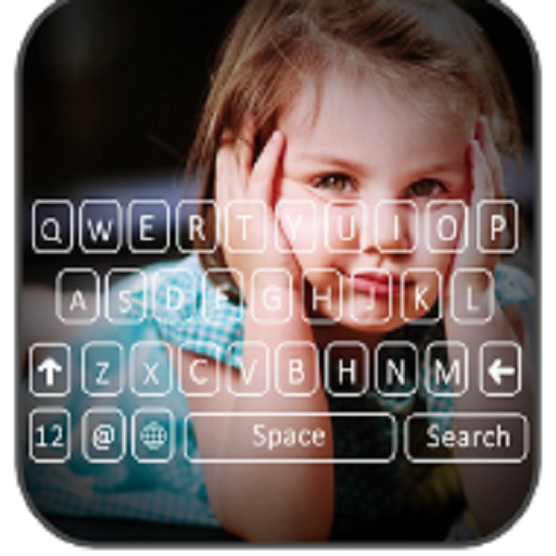 photo keyboard background