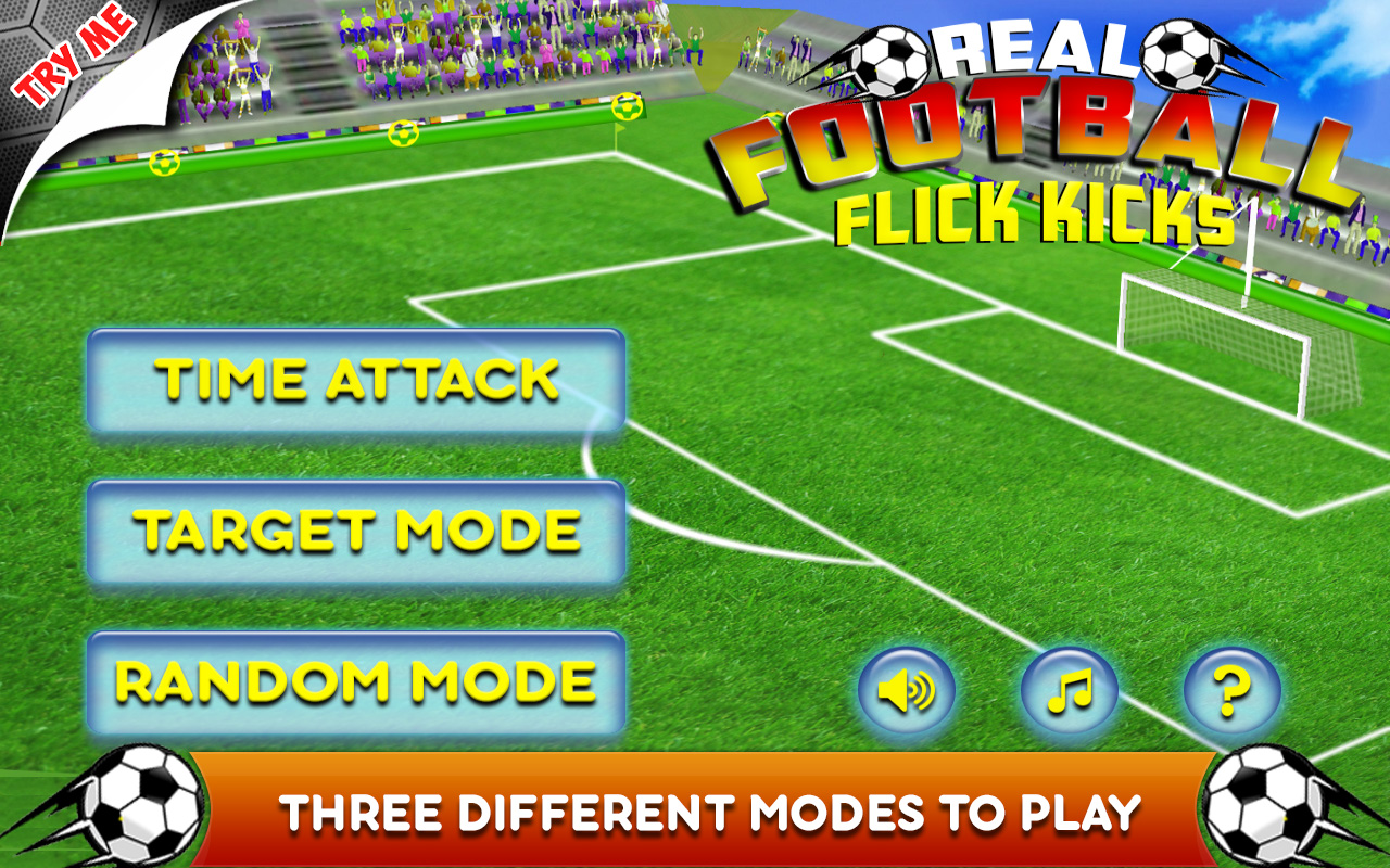 Real Football Flick Kicks