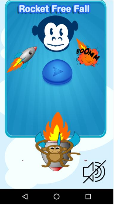 rocket monkey free fall