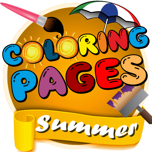 Summer Coloring Pages for Kids