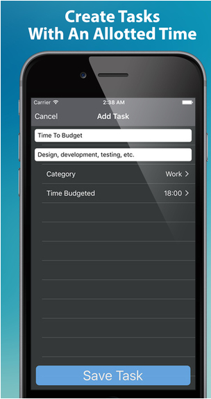 Time2Budget | Time & Task Manager