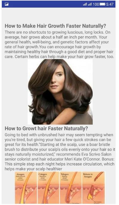 women hair t