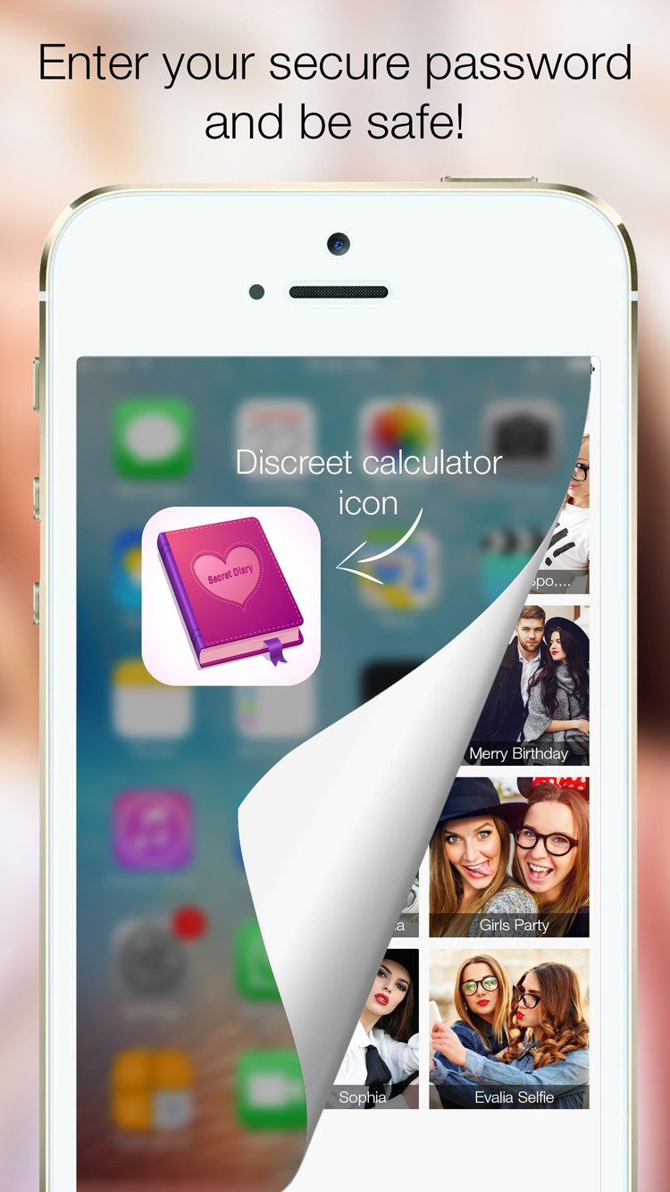 Amazing Secret Diary-Hide pictures, videos securely with password