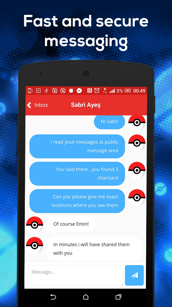 Chat for Pokemon GO