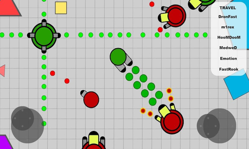 Deep.io - Tanks Diep Online