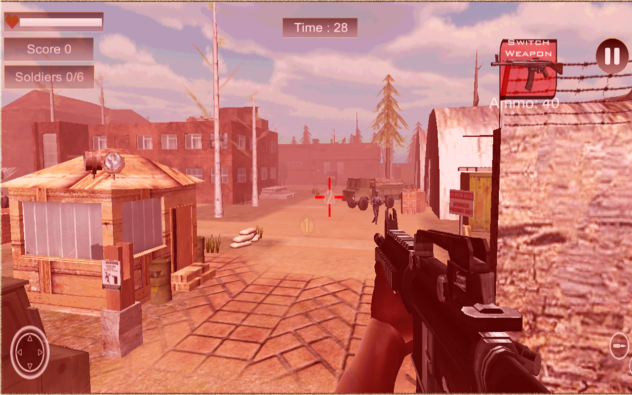 Enemy Shooting Revenge 3D