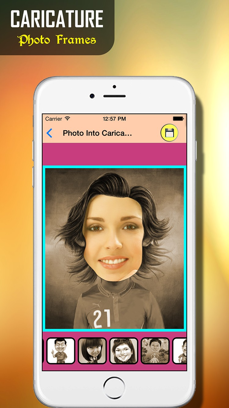 Face Caricature - Cartoon Maker | iOS