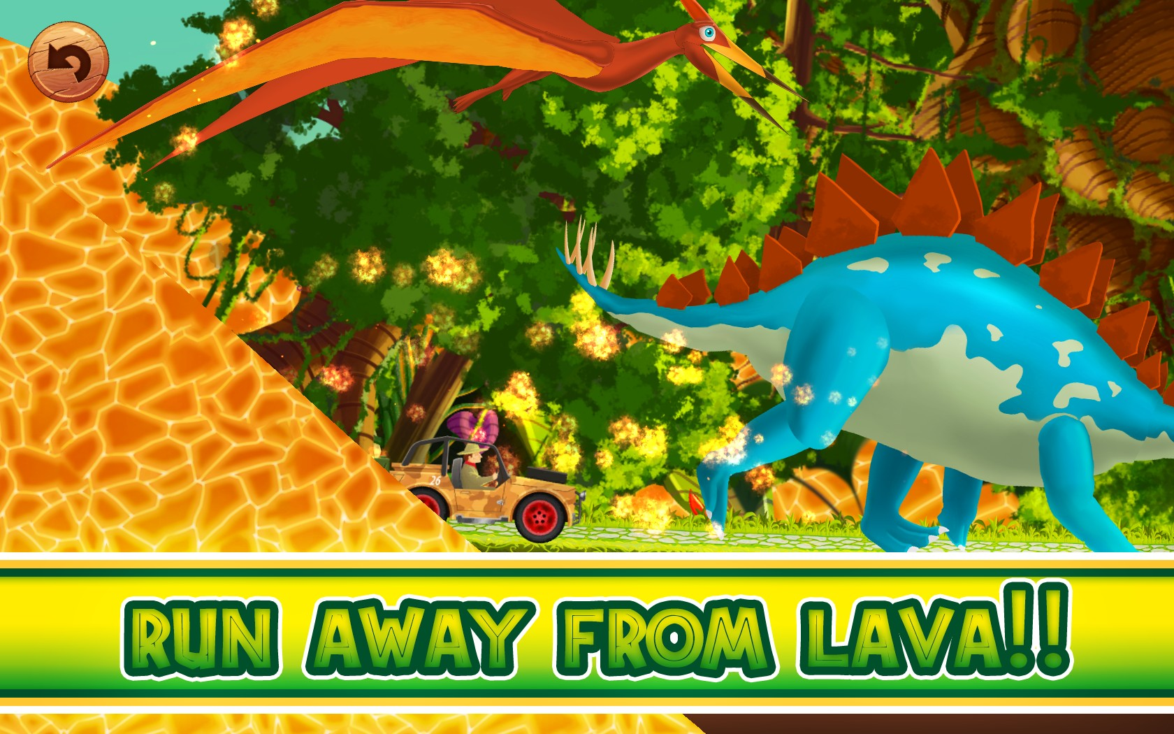 Fun Kid Racing Dinosaurs World