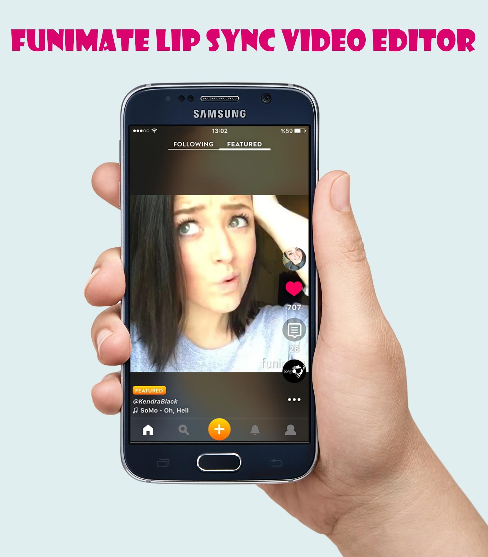 Funimate Lip Sync Video Editor